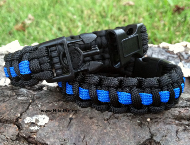 550 Paracord Band With Handcuff Key Buckle